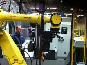 Robot at Mincon Perth Plant