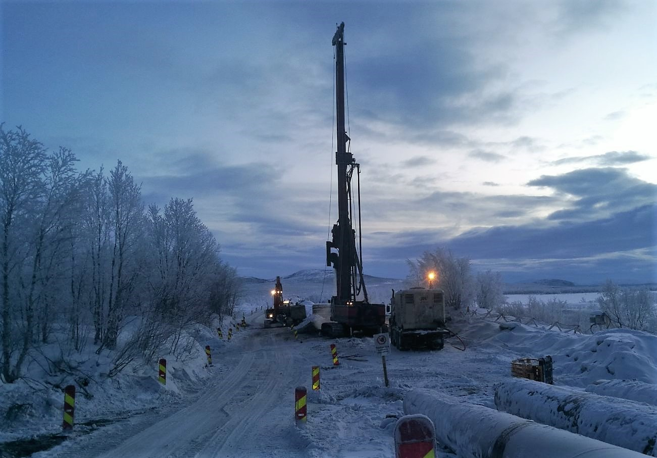 drilling above the arctic