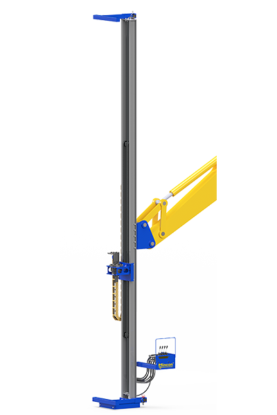 20ft Excavator Drill Mast Attachment for installing well points