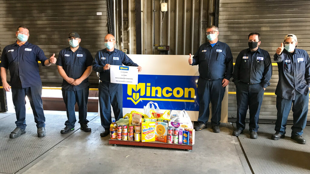 Mincon Canada Lends a Helping Hand to Local Food Bank